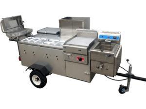Mobile Grillstation / Hot Dog Wagen